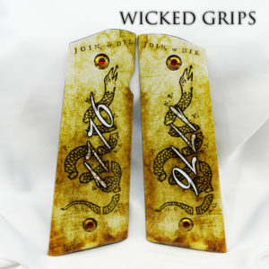 CUSTOM 1911 GRIPS 1776 JOIN OR DIE