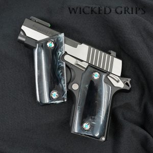 OFFICER MODEL 1911 COMPACT DOUBLE PISTOL HOLSTER - Wicked