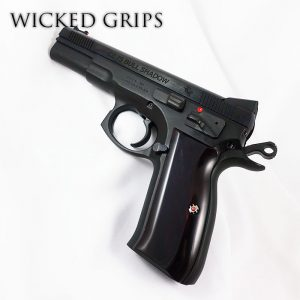 CZ75 PISTOL ARTIST SERIES GRIPS SYNTHETIC BLOODY JASPER