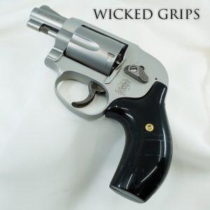CUSTOM SMITH & WESSON J FRAME GUN GRIPS REPLICATED BUFFALO HORN