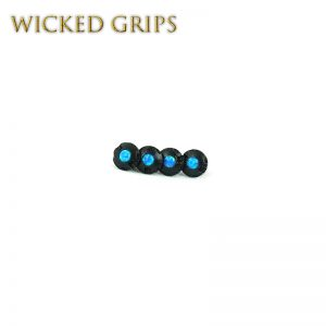 1911-black-pistol-grip-screws-blue-opal