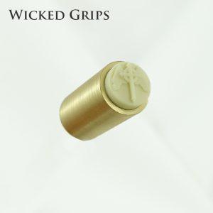 Wicked-Grips-ivory-brass-winged-cross-1