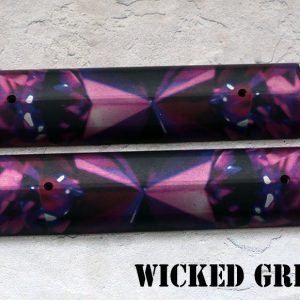 "AR-15 ALUMINUM ""RAIL COVER""   AMETHYST GEMSTONE SERIES!"