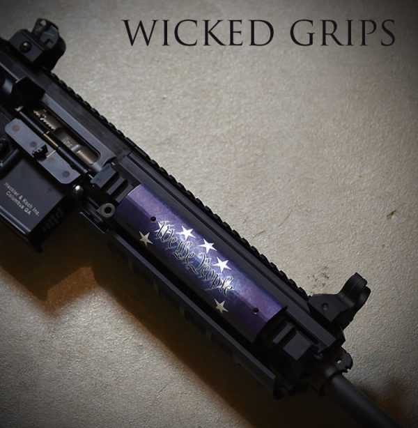 AR15 PICATINNY QUAD RAIL COVER WE THE PEOPLE VER 3