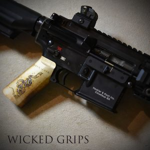CUSTOM AR-15 PISTOL GRIP 1776