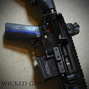 CUSTOM AR-15 PISTOL GRIP THIN BLUE LINE