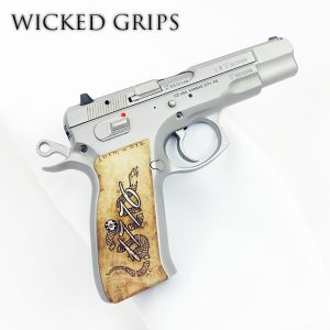 CZ-75 CUSTOM PISTOL GRIPS 1776 JOIN OR DIE