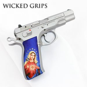 CZ-75 CUSTOM PISTOL GRIPS MARY V3
