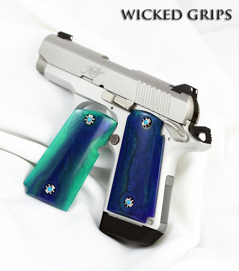 Kimber MICRO 9mm Grips - Wicked Grips | Custom Handgun