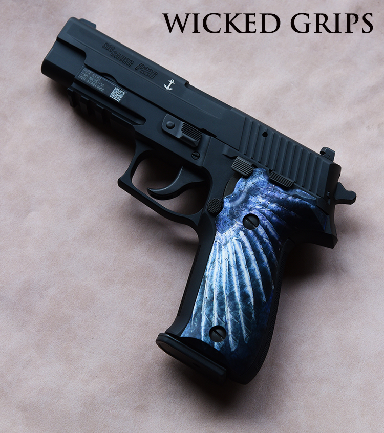 CUSTOM SIG SAUER P226 GRIPS WING