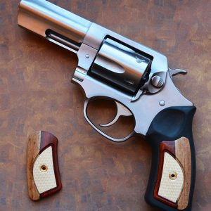 RUGER SP101 CUSTOM WOOD GRIPS