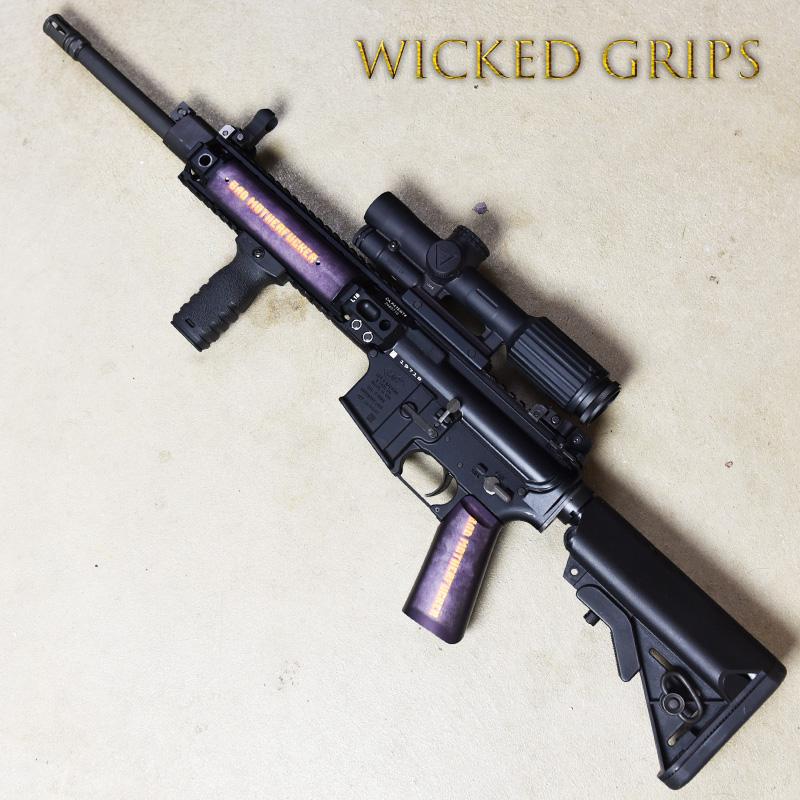 CUSTOM AR-15 PISTOL GRIP BMF V2