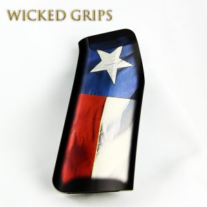 CUSTOM AR-15 PISTOL GRIP TEXAS FLAG V2
