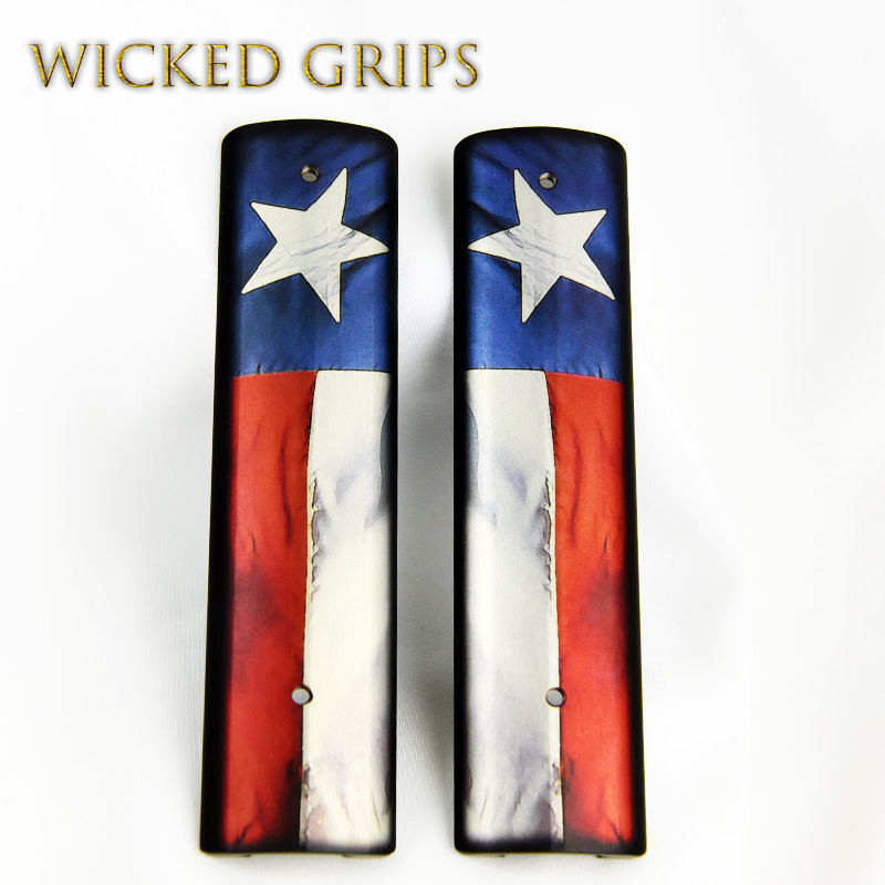 AR15 PICATINNY QUAD RAIL COVER TEXAS FLAG V2