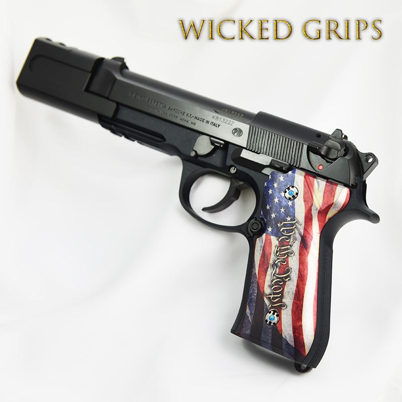 Beretta 92FS - Wicked Grips   Custom Handgun Pistol Grips