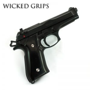 BERETTA 92FS GRIPS CUSTOM REPLICATED BUFFALO