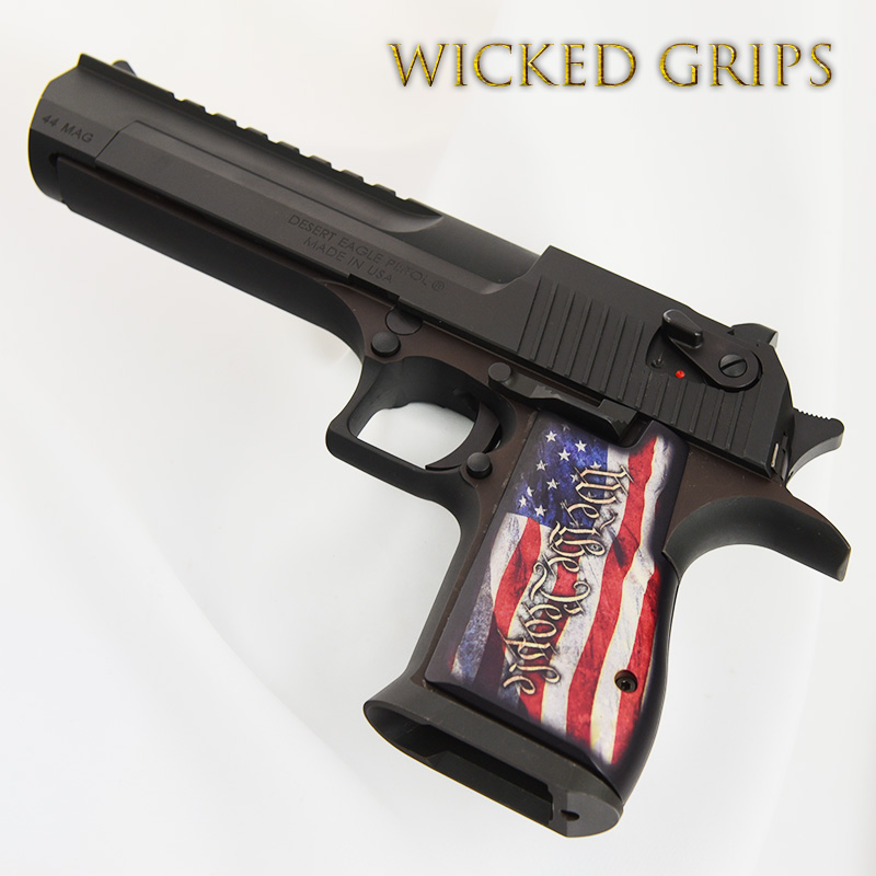 DESERT EAGLE GRIPS WE THE PEOPLE VER 4