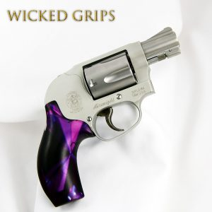 CUSTOM SMITH & WESSON J FRAME GRIPS AMETHYST