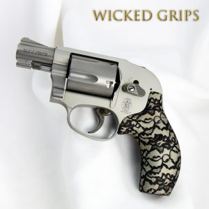CUSTOM SMITH & WESSON J FRAME GRIPS BLACK LACE