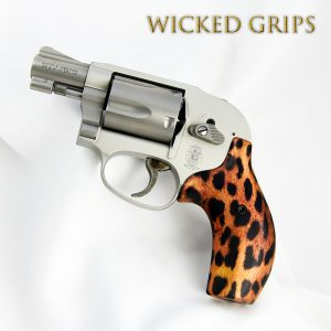 CUSTOM SMITH & WESSON J FRAME GRIPS CHEETAH
