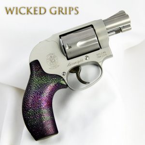CUSTOM SMITH & WESSON J FRAME GRIPS OIL SLICK