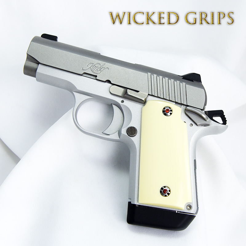 KIMBER MICRO 9MM PISTOL GRIPS SYNTHETIC IVORY