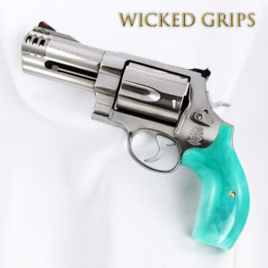 S&W K L X FRAME REVOLVER GRIPS REPLICATED JADE