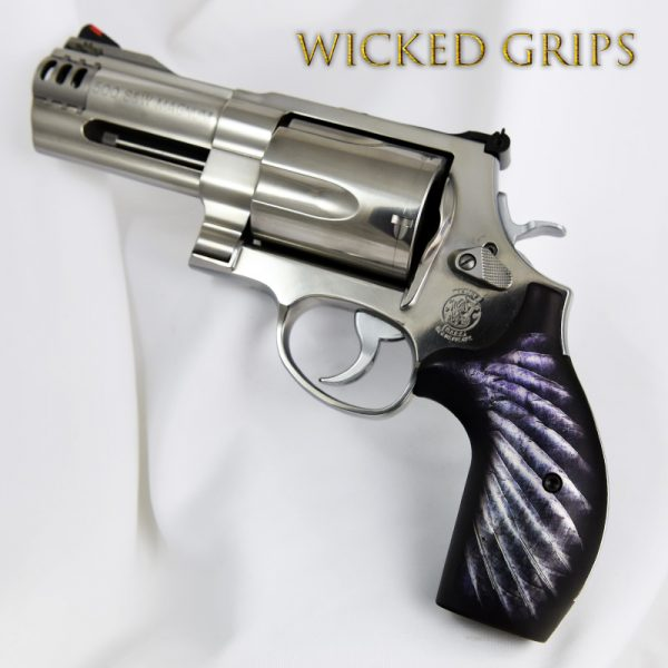 SMITH & WESSON K L AND X FRAME REVOLVER GRIPS WING