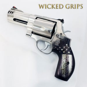 Smith & Wesson K, L and X Frame Grips - Wicked Grips
