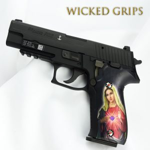 CUSTOM SIG SAUER P226 GRIPS MARY ROMEO & JULIET TRIBUTE