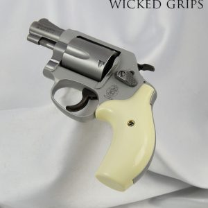CUSTOM SMITH & WESSON J FRAME GRIPS IMITATION IVORY