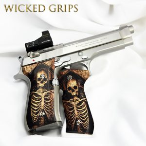 BERETTA 92FS FLAT WIRE RECOIL SPRING KIT - Wicked Grips