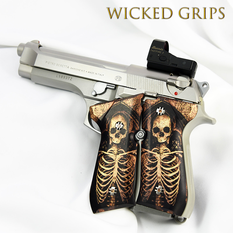 beretta-92fs-custom-grips-skeleton