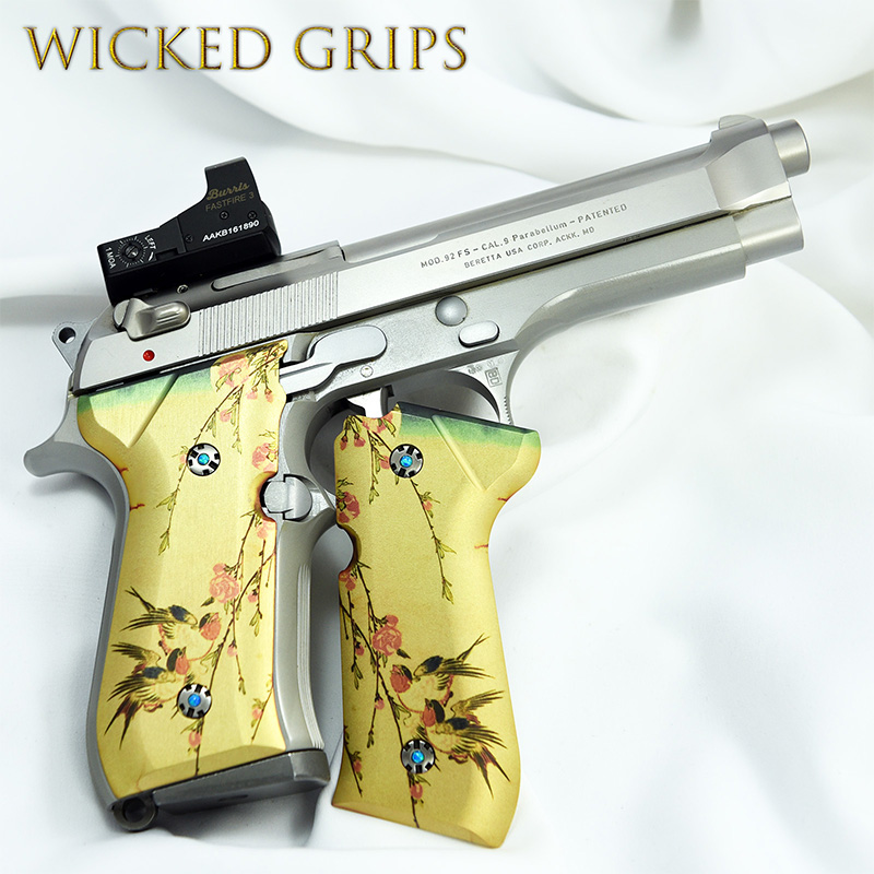 custom-beretta-92fs-grips-japanese-birds