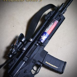 AR15 PICATINNY QUAD RAIL COVER TEXAS FLAG
