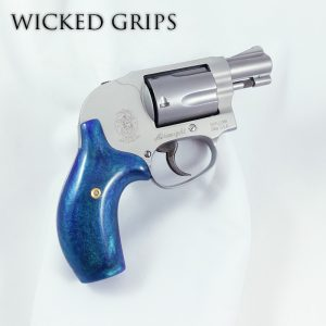 SMITH & WESSON J FRAME REVOLVER GRIPS CUSTOM AURORA