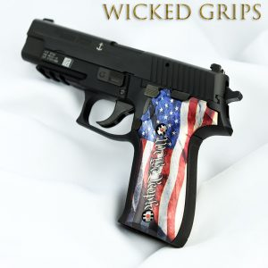 CUSTOM SIG SAUER P226 PISTOL GRIPS WE THE PEOPLE VER 4
