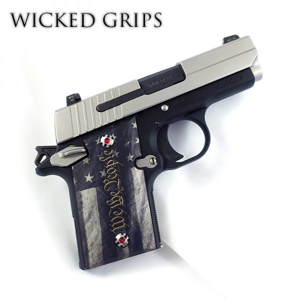 CUSTOM SIG SAUER P938 GRIPS WE THE PEOPLE V5