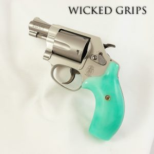 CUSTOM SMITH & WESSON J FRAME GRIPS REPLICATED JADE