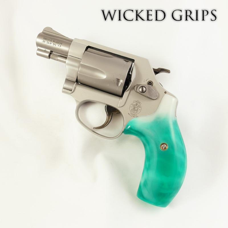 Smith & Wesson J FRAME GRIPS - Wicked Grips | Custom Handgun