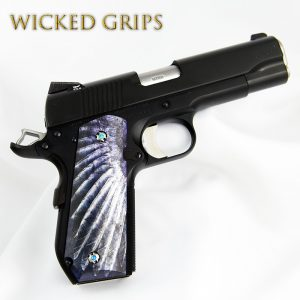 "1911 BOBTAIL GRIPS ""WING"""