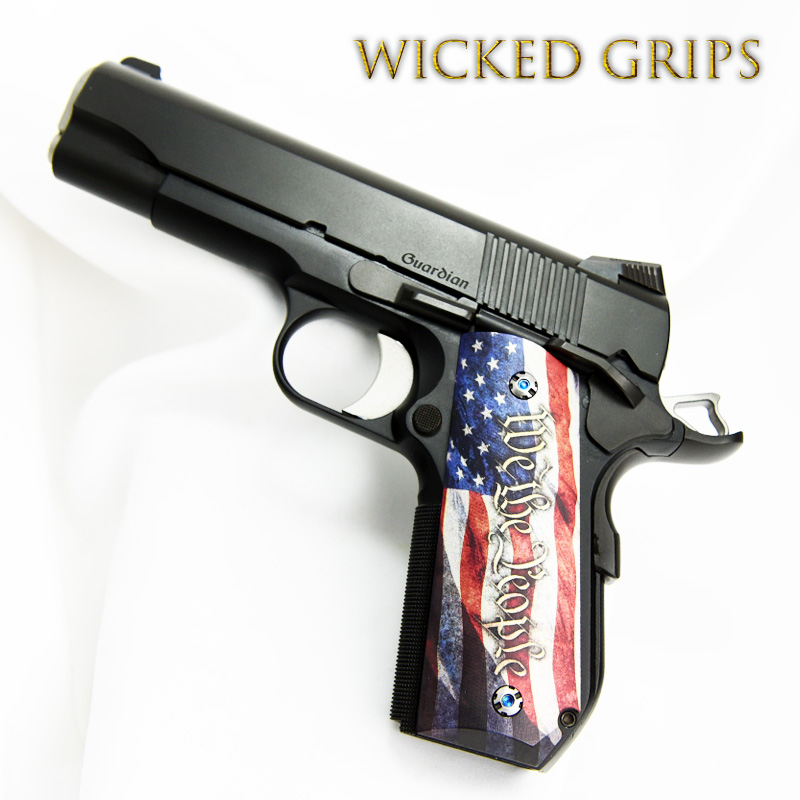 1911 BOBTAIL PISTOL GRIPS WE THE PEOPLE V4