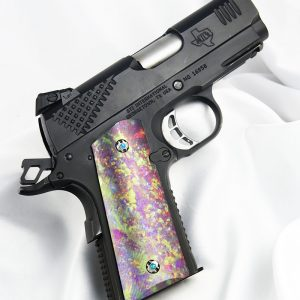 CUSTOM 1911 OFFICERS COMPACT PISTOL GRIPS OPAL