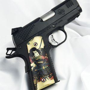 CUSTOM 1911 OFFICERS COMPACT PISTOL GRIPS SAMURAI