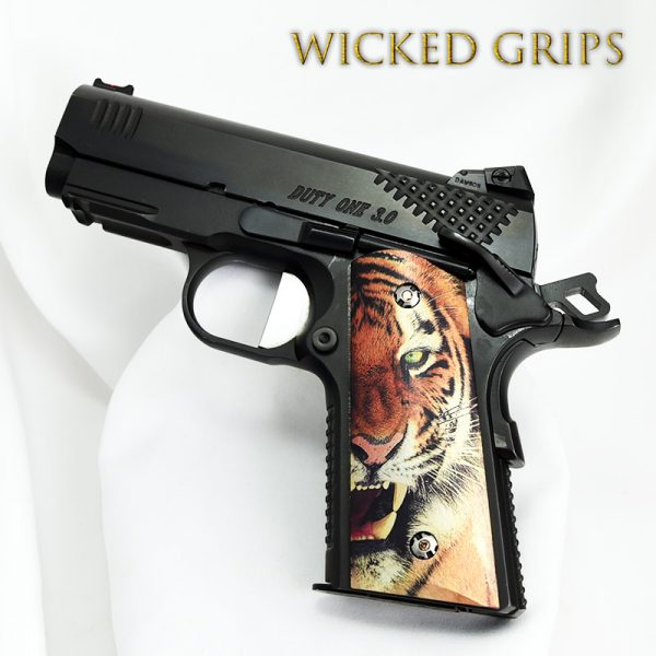 1911 COMPACT OFFICERS MODEL TIGER