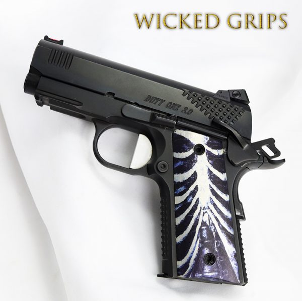 """1911 OFFICERS COMPACT THIN """"RIB CAGE"""""""