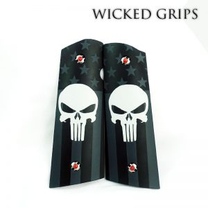 1911 GRIPS ARTIST SERIES SUBDUED AMERICAN PUNISHER