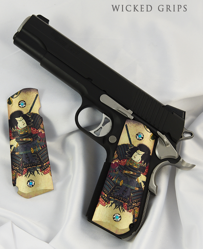 SIG 1911 FASTBACK GRIPS SAMURAI
