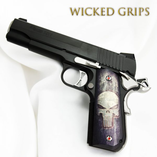 SIG SAUER 1911 FASTBACK PISTOL GRIPS FULL METAL PUNISHER