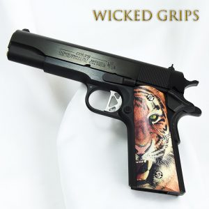 CUSTOM 1911 PISTOL GRIPS TIGER